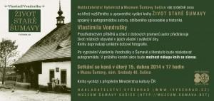 pozvanka_Vondruska_Zivot_stare_Sumavy